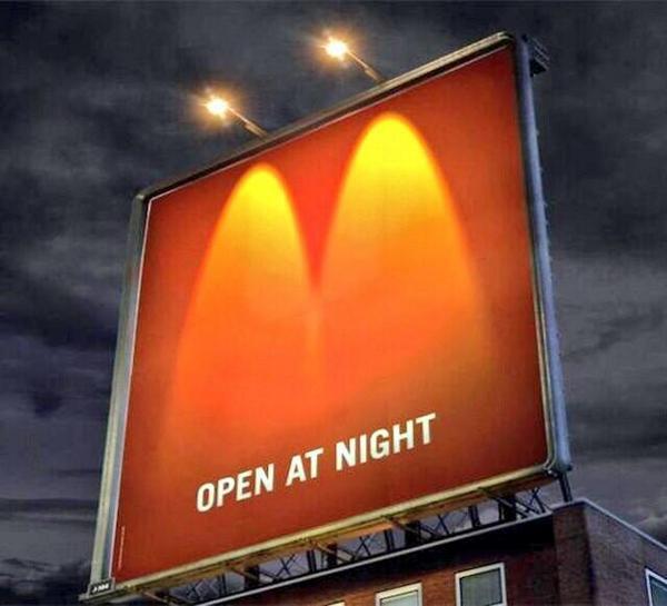 تبلیغات خلاقانه مک دونالد