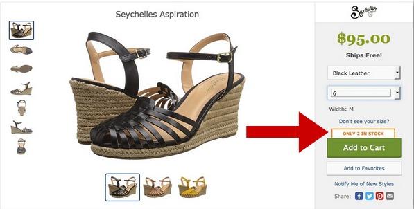 استفاده از توهم کمیابی در فروش محصولات