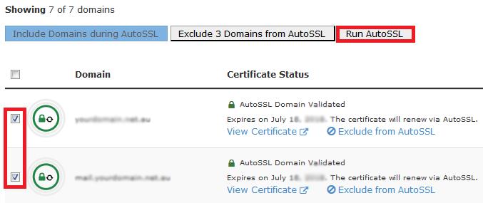 آموزش فعالسازی SSl در cpanel